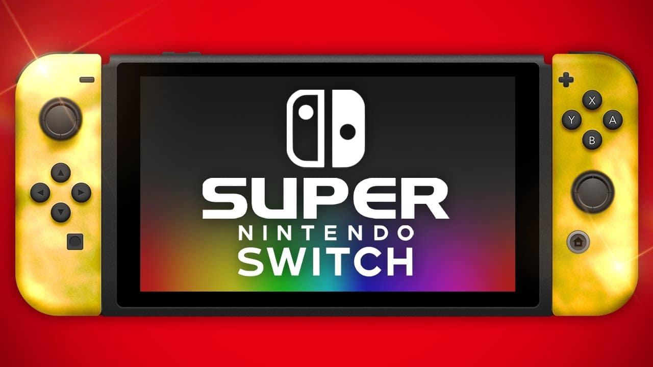 Super Nintendo Switch. Nibtendo Switch Pro, GamersRD