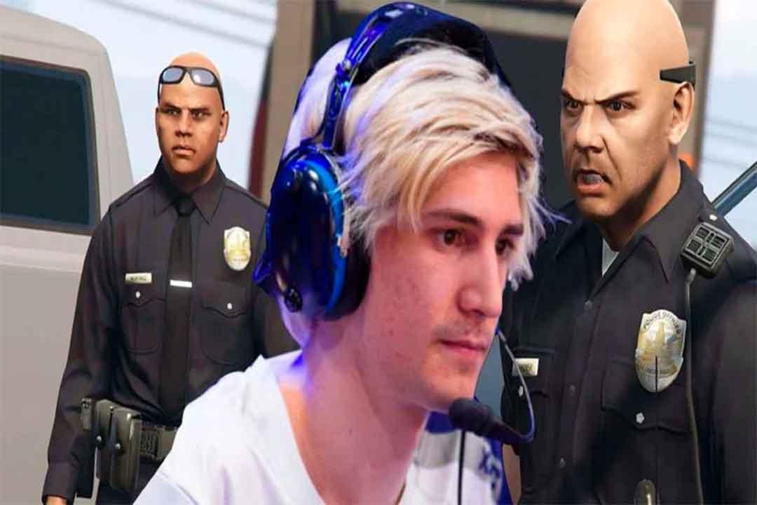 Streamer xQc, GTA Online, GamersRD
