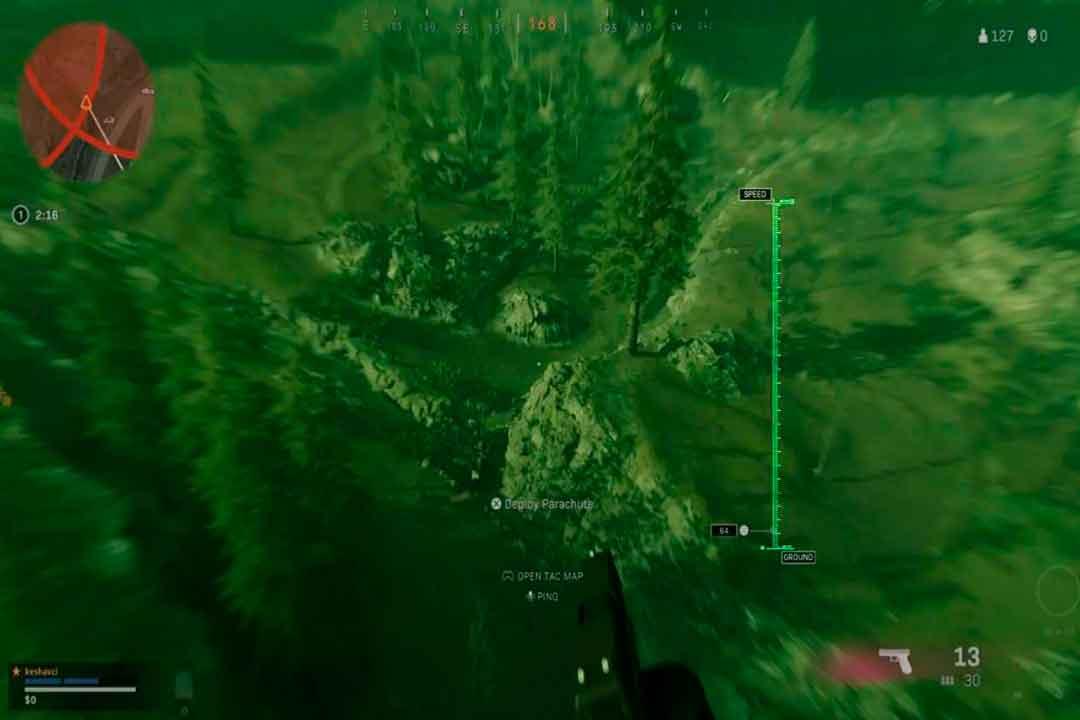 Verdansk en Warzone, Minimapa, GamersRD