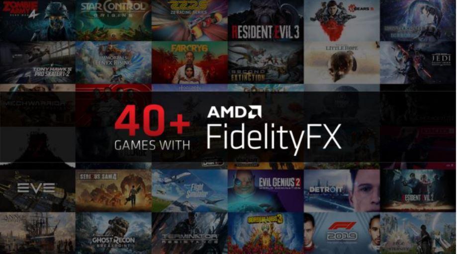 AMD Radeon Software Adrenalin 21.4.1, AMD FIDELITY FX ,GamersRD