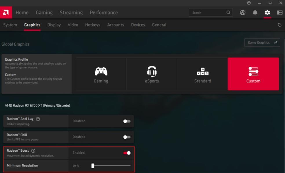 AMD Radeon Software Adrenalin 21.4.1, AMD L BOOST 1, GamersRD