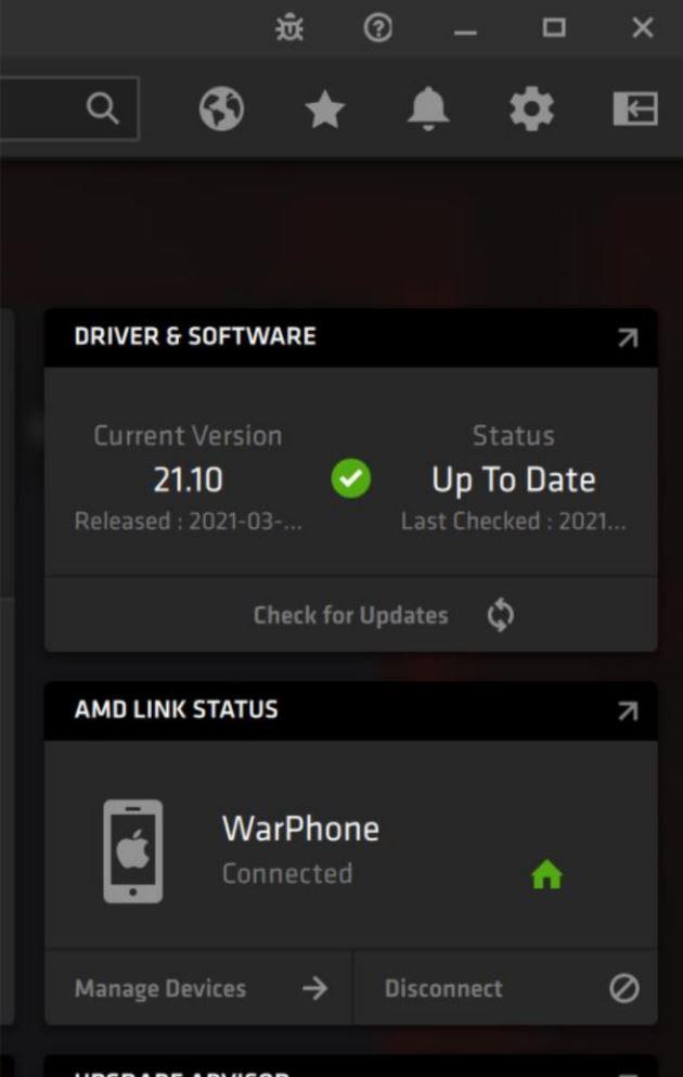 AMD Radeon Software Adrenalin 21.4.1, AMD LINK 4, GamersRD