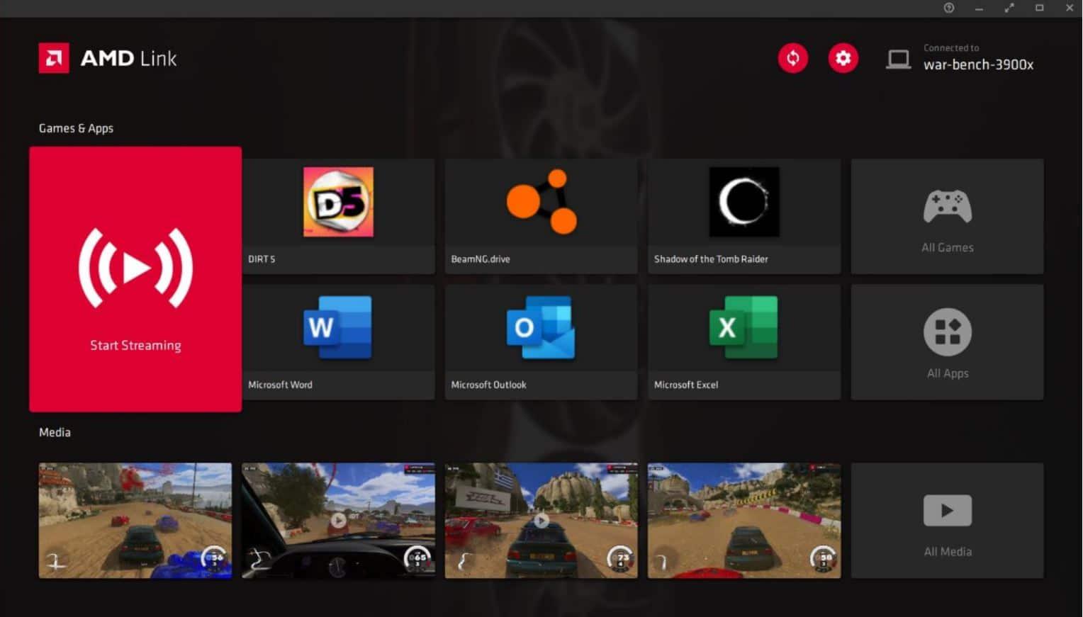 AMD Radeon Software Adrenalin 21.4.1, AMD LINK 8, GamersRD