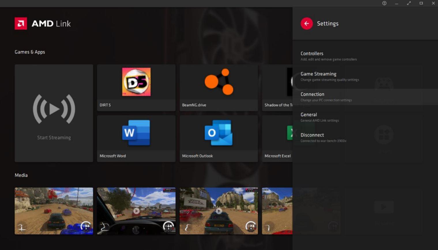 AMD Radeon Software Adrenalin 21.4.1, AMD LINK 9, GamersRD