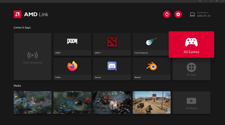 AMD Radeon Software Adrenalin 21.4.1, AMD LINK, GamersRD