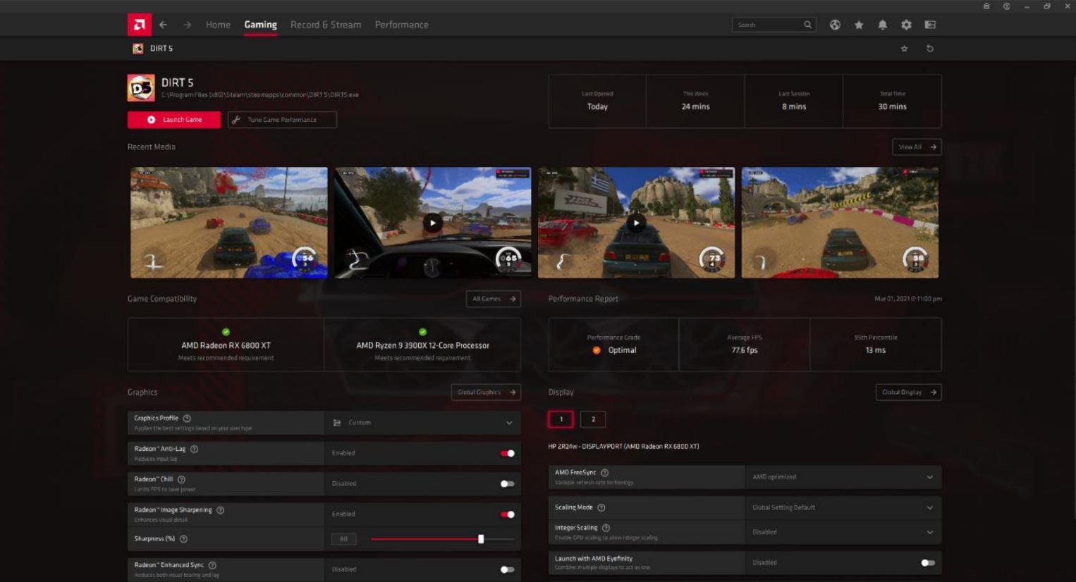 AMD Radeon Software Adrenalin 21.4.1, GamersRd