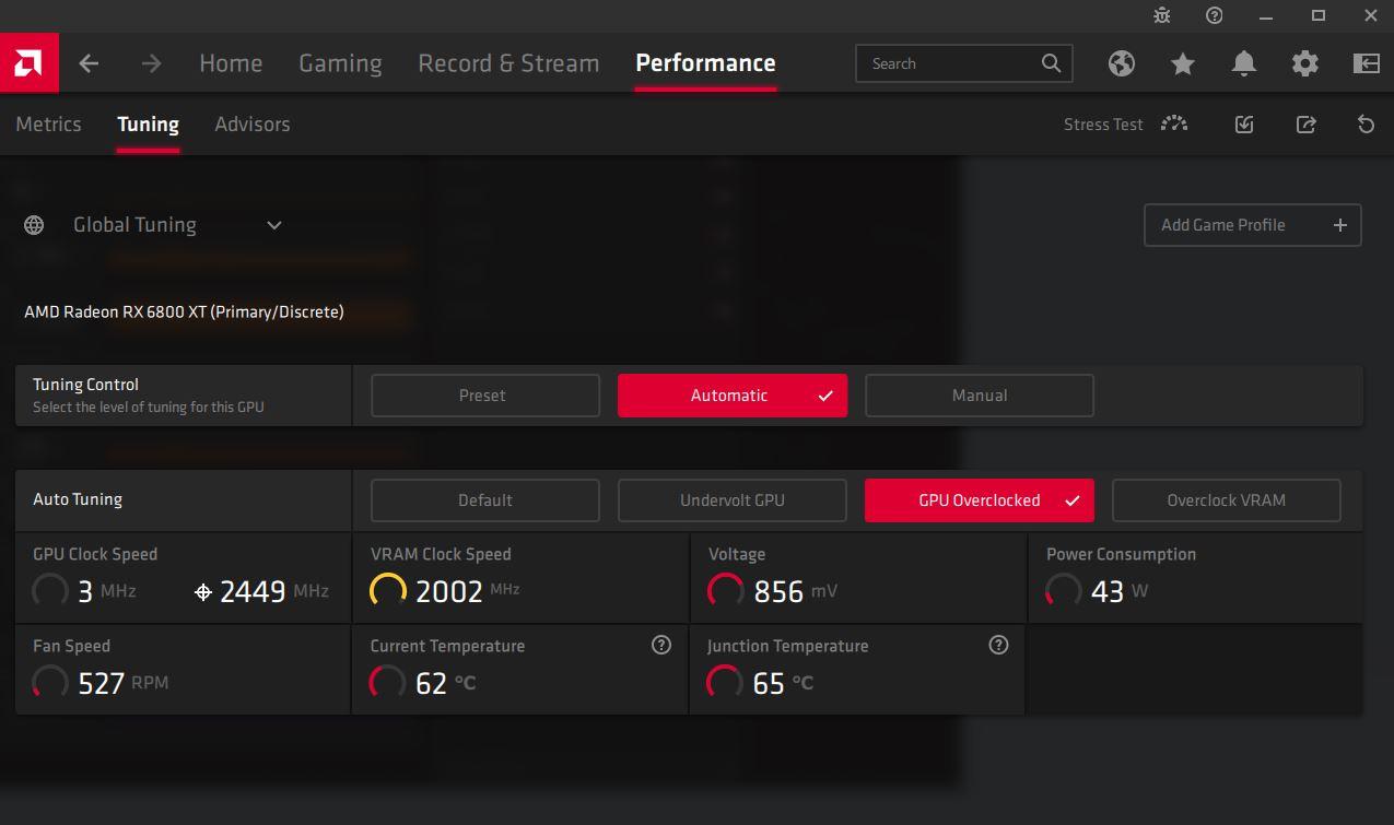 AMD Radeon Software Adrenalin 21.4.1,Performance,2, GamersRD