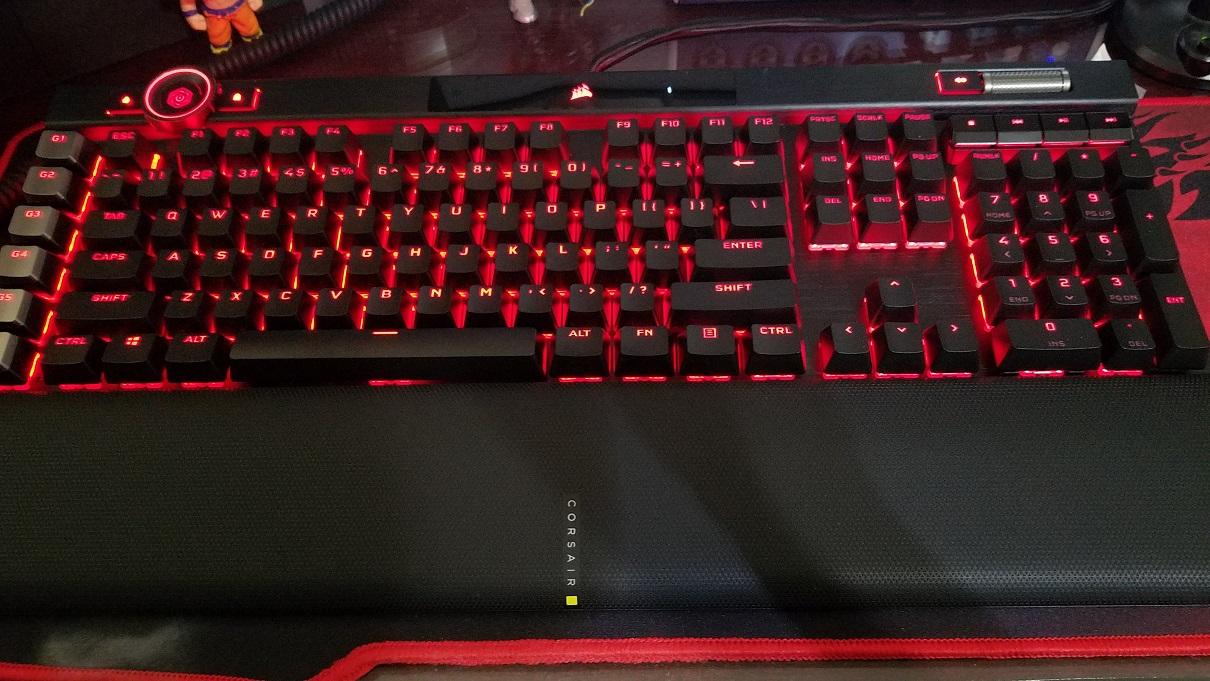 CORSAIR Teclado Mecánico Gaming K100 RGB 3 Review