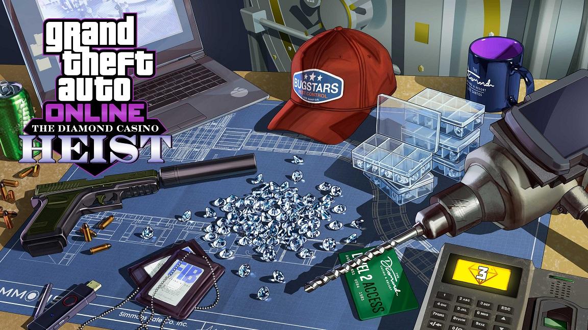 GTA Online recompensas triples en misiones de trabajos del casino, recompensas dobles en todas las Carreras acrobáticas creadas por Rockstar y más gAMERSrd