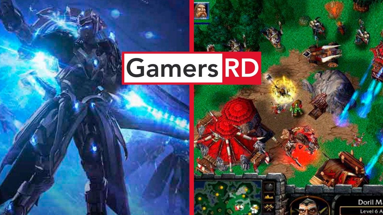 StarCraft, Warcraft. GamersRD
