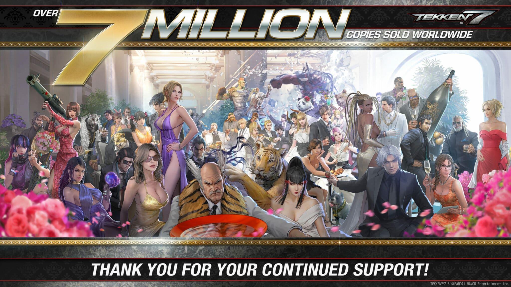 Imagen conmemorativa Tekken 7 - GamersRD