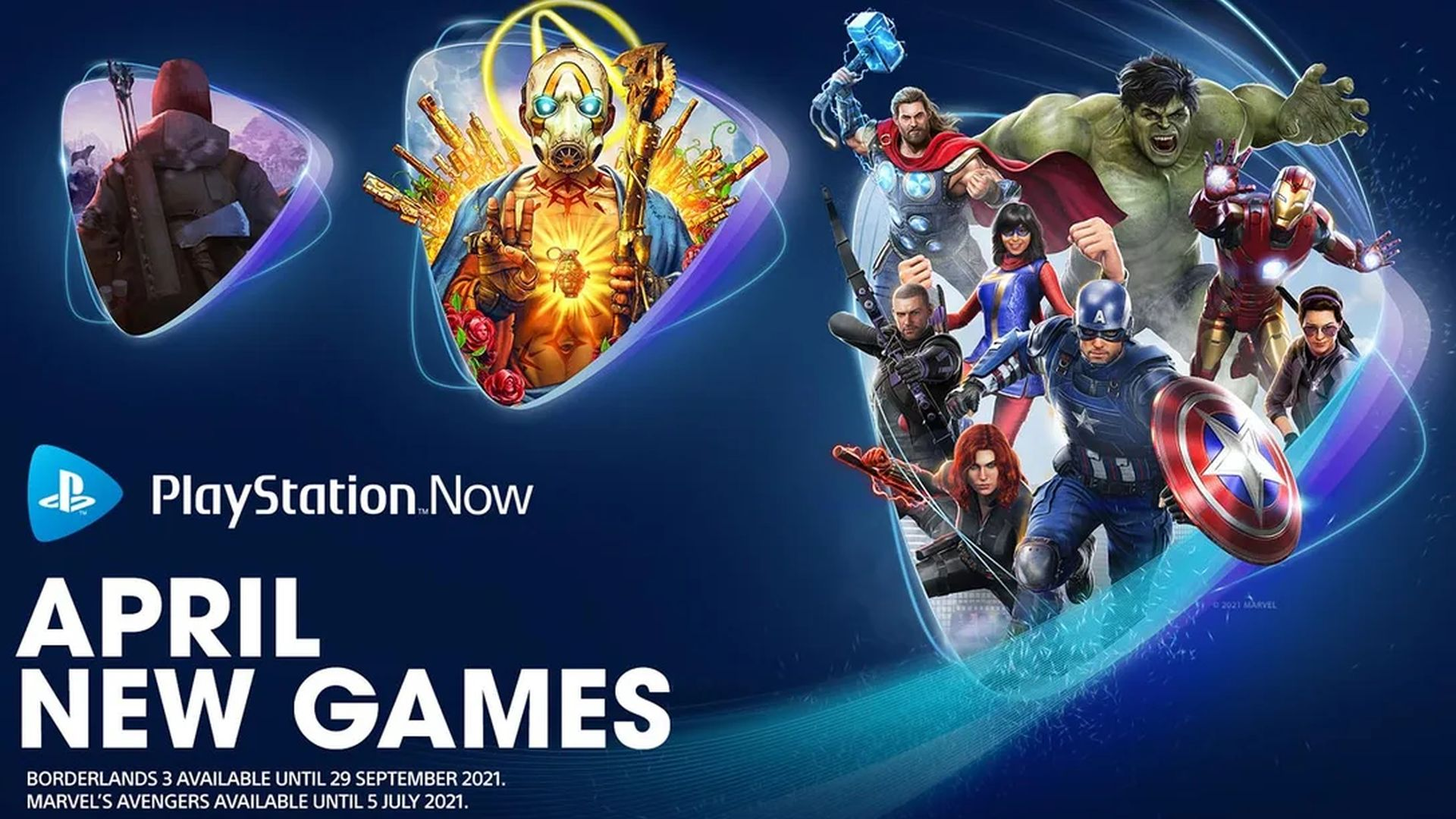 Marvel's Avengers, Borderlands 3 y The Long Dark se unen a PlayStation Now