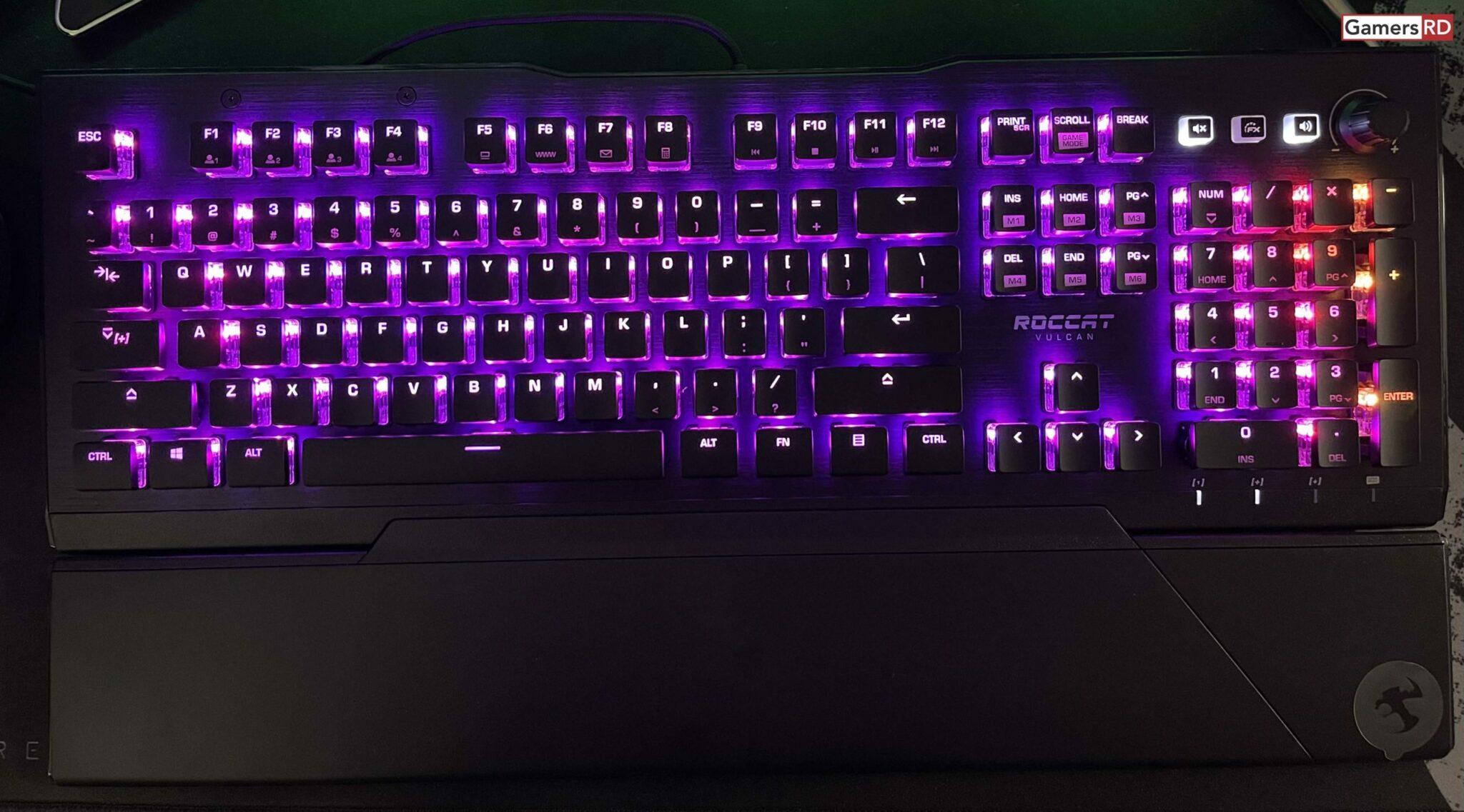 ROCCAT Vulcan Pro Optical-Tactile RGB Gaming Keyboard Review, 7 GamersRD