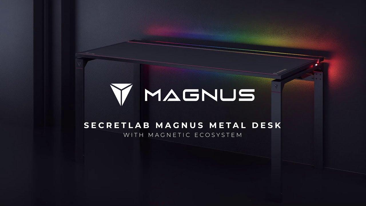 Secretlab MAGNUS desk - GamersRD