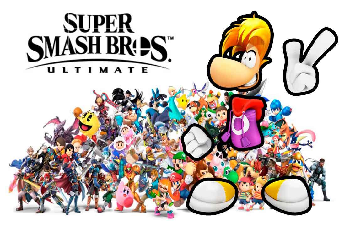 Rayman, Super Smash Bros Ultima, GamersRD