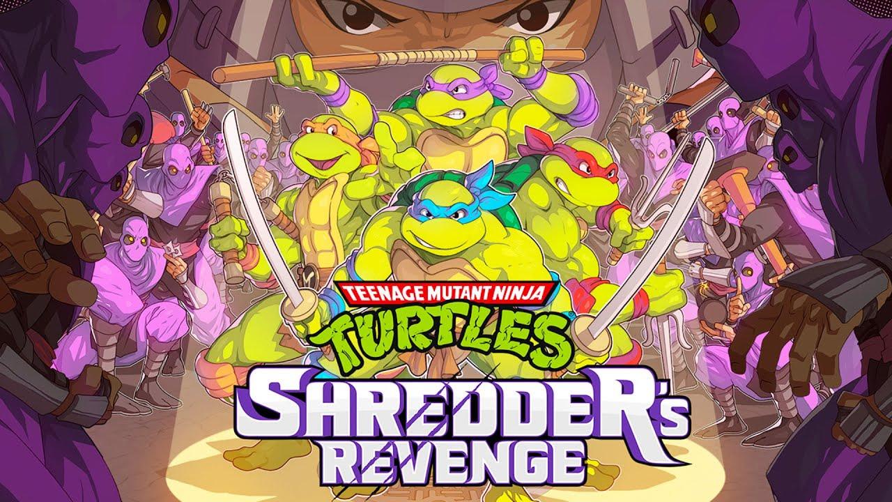 Teenage Mutant Ninja Turtles Shredder's Revenge - Gameplay trailer, GamersRd