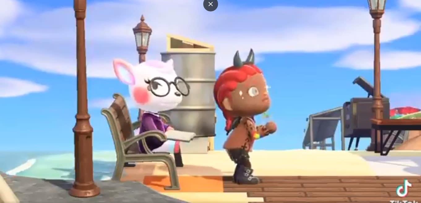 Vídeo de Lil Nas X en Animal Crossing New Horizons, GamersRD