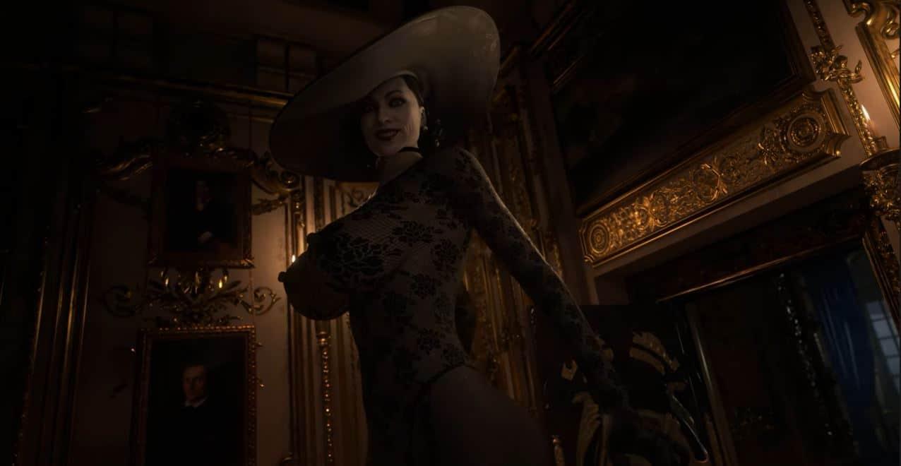 Lady Dimitrescu mod lenceria Resident Evil Village, GamersRD