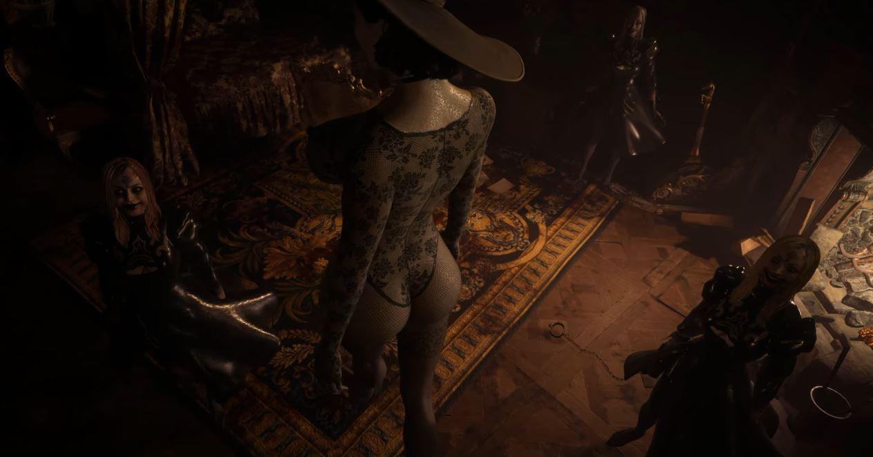 Lady Dimitrescu mod lencery Resident Evil Village, GamersRD