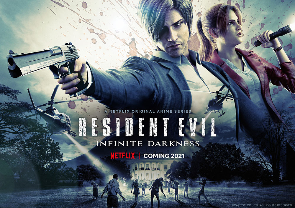 Resident Evil Infinite Darkness Official Trailer Netflix, GamersRD