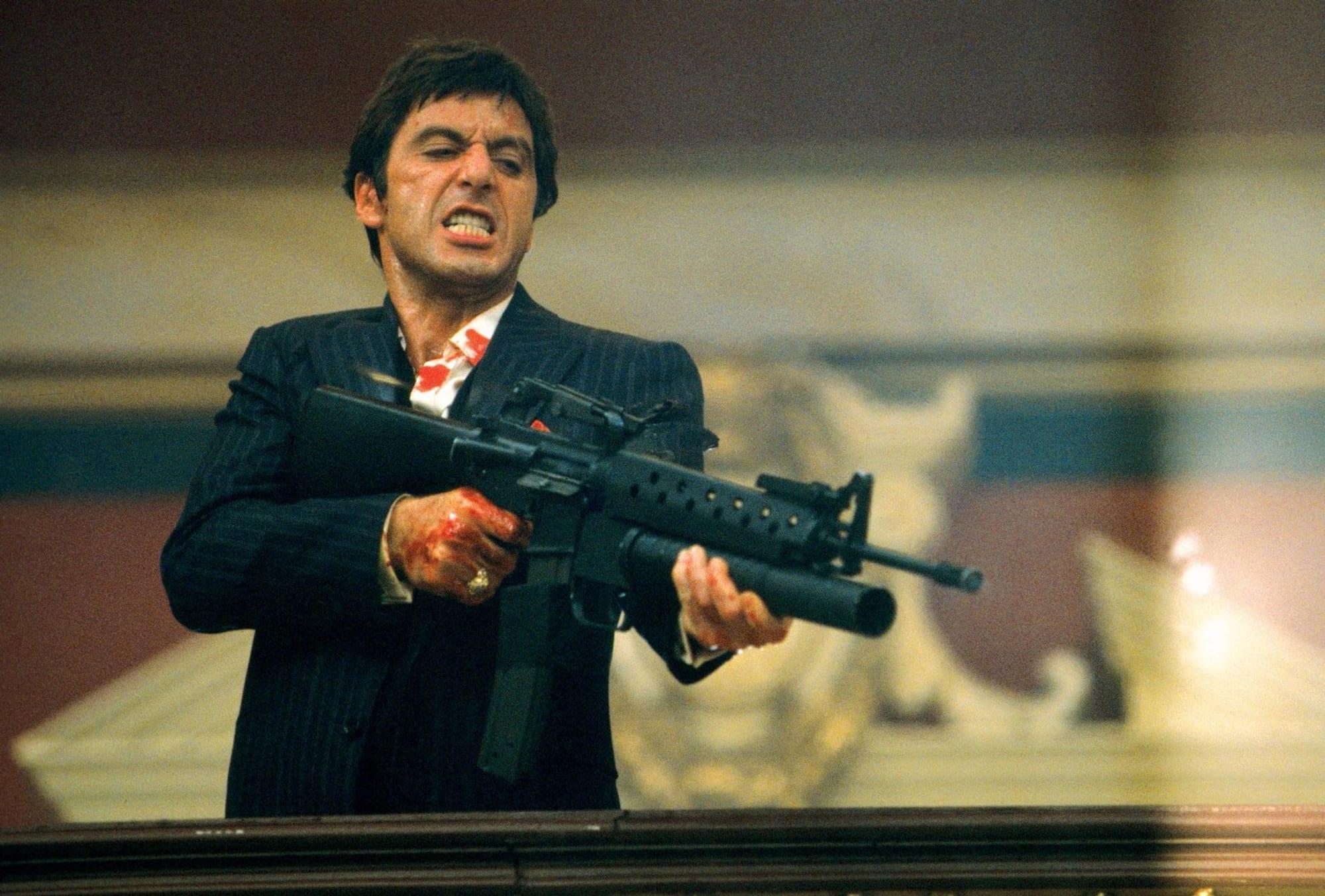 Scarface , Al pacino, Personajes que encajarían en el crossover de los 80 de Call of Duty Black Ops Cold War y Warzone , GamersRD