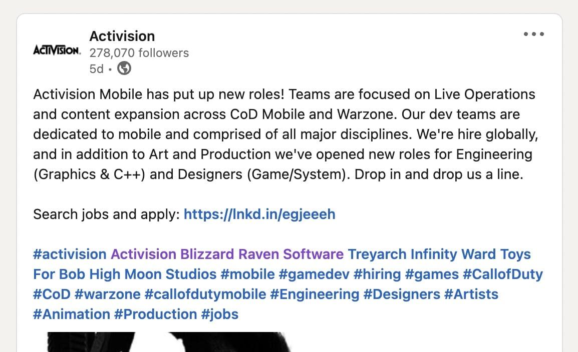 Activision-Linkedi-warzone-mobile
