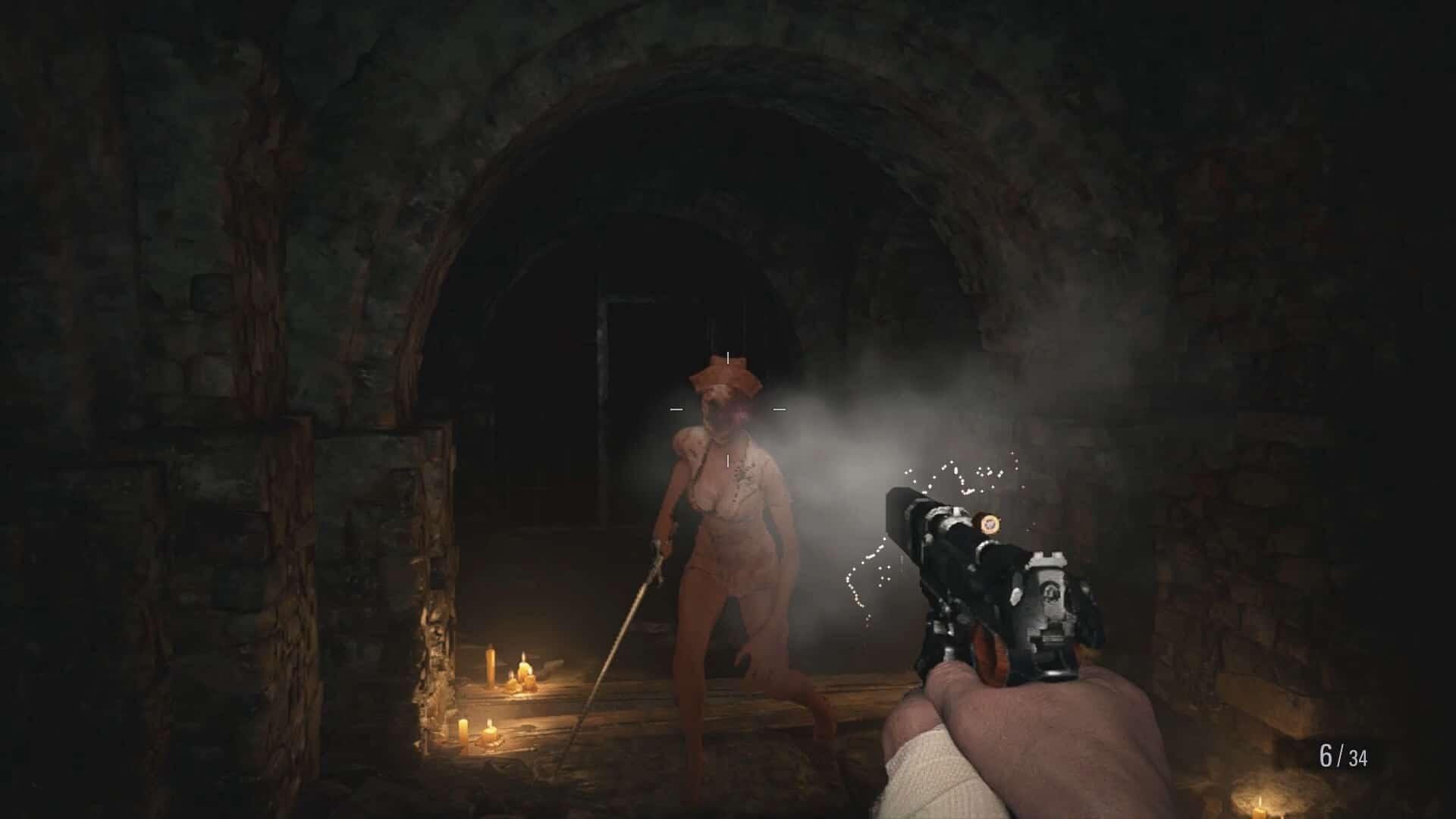 Silent-Hill-Nurses-Mod-for-Resident-Evil-Village-1
