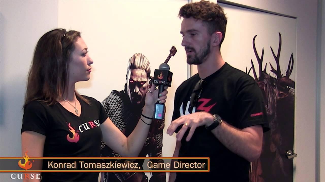 Konrad Tomaszkiewicz, CD Proyect Red, The Witcher, GamersRD
