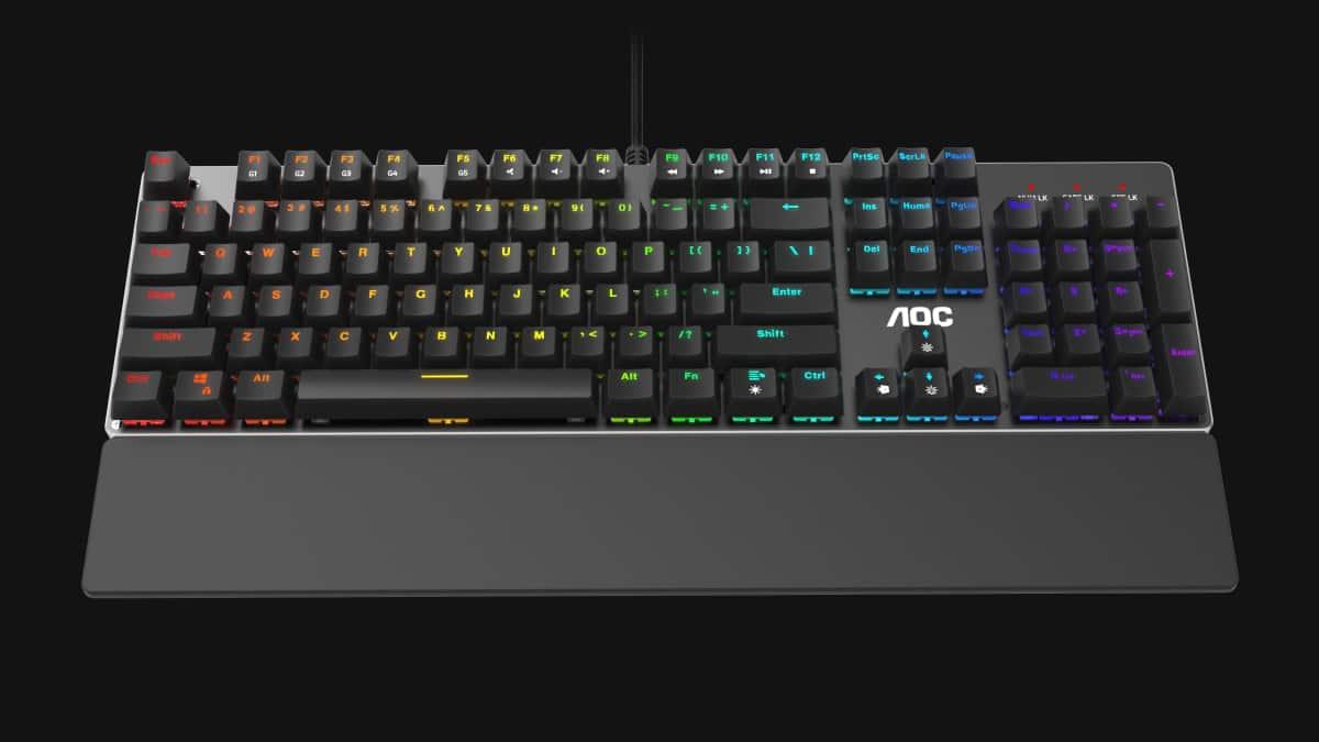 AOC GK500 Teclado Mecánico Review GamersRD