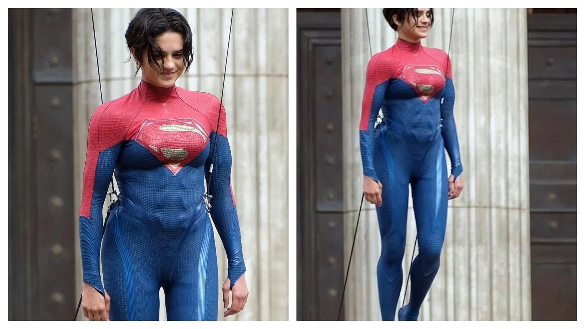 Primer vistazo a Sasha Calle como Super Girl de la película The Flash