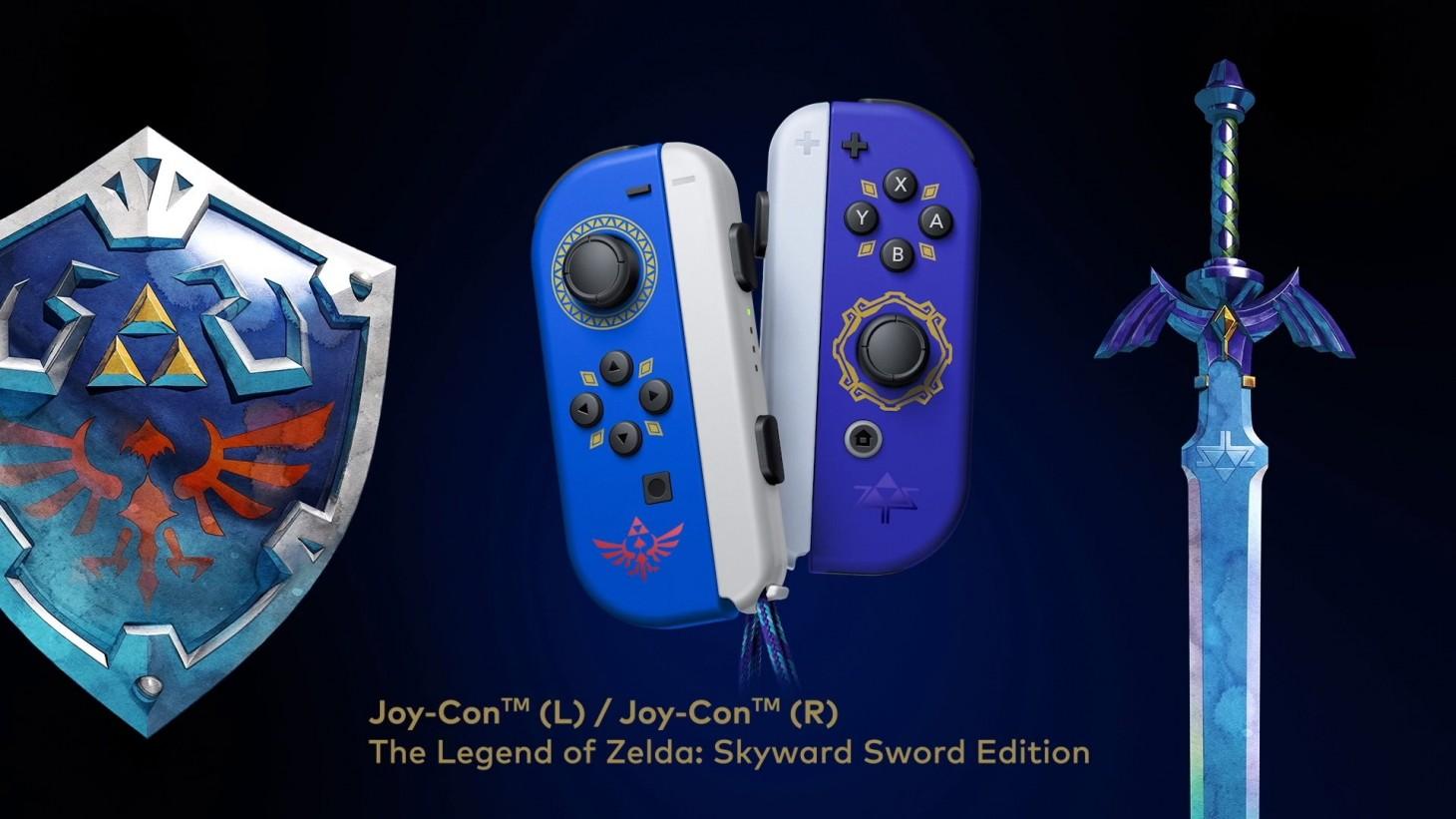 Joy-cons Skyward Sword - GamersRD