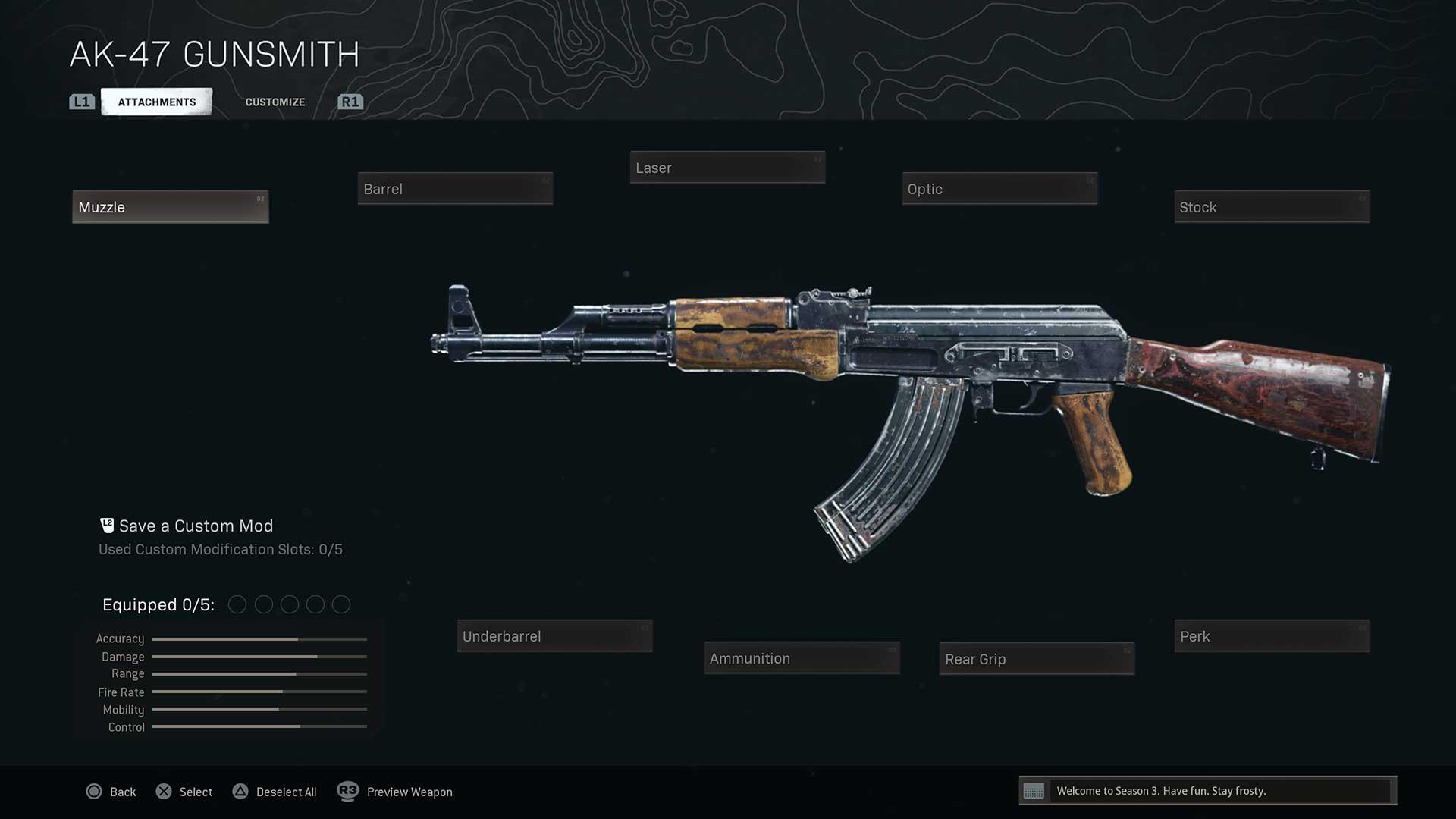 Warzone-gunsmith-system