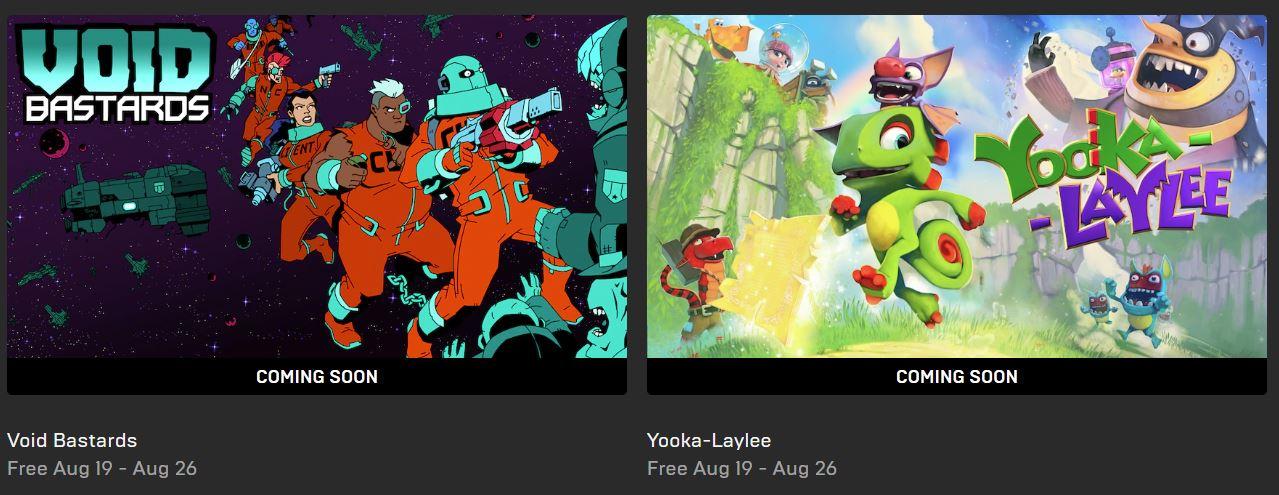 epic games gratis yooka laylee