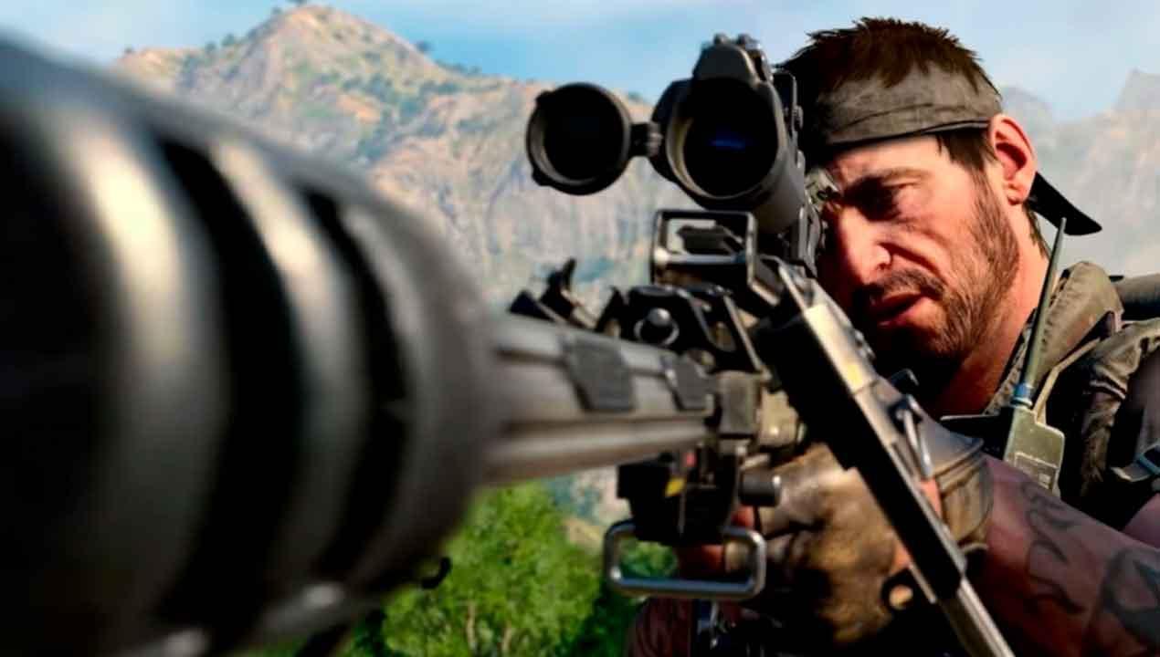 Black Ops Cold War sniper, GamersRD