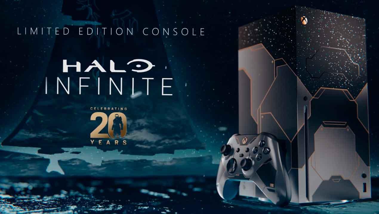 Halo Infinite, Xbox Series X, Edición Limitada, GamersRD