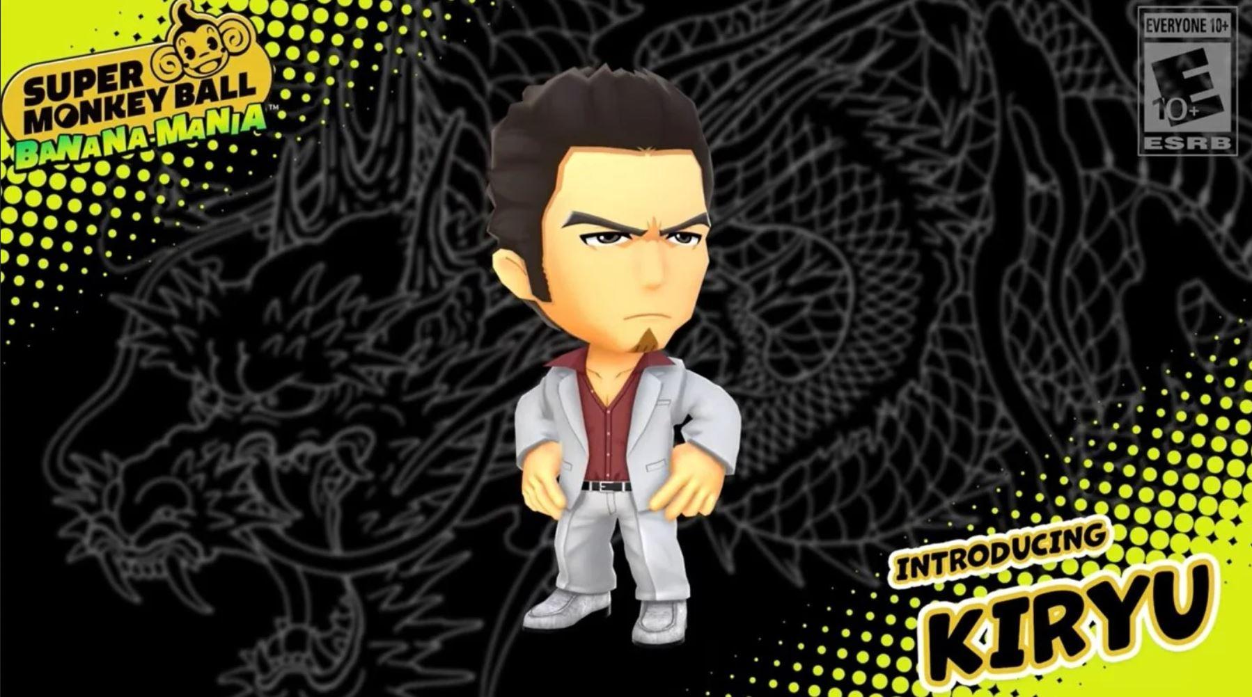 super monkey ball kiryu yakuza