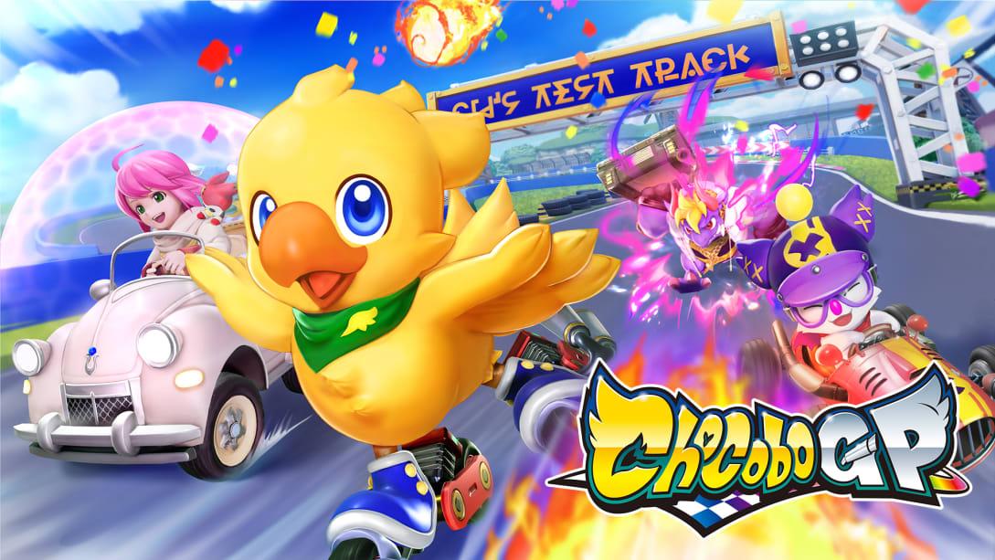 CHOCOBO GP, Square Enix, Nintendo Switch, GamersRD