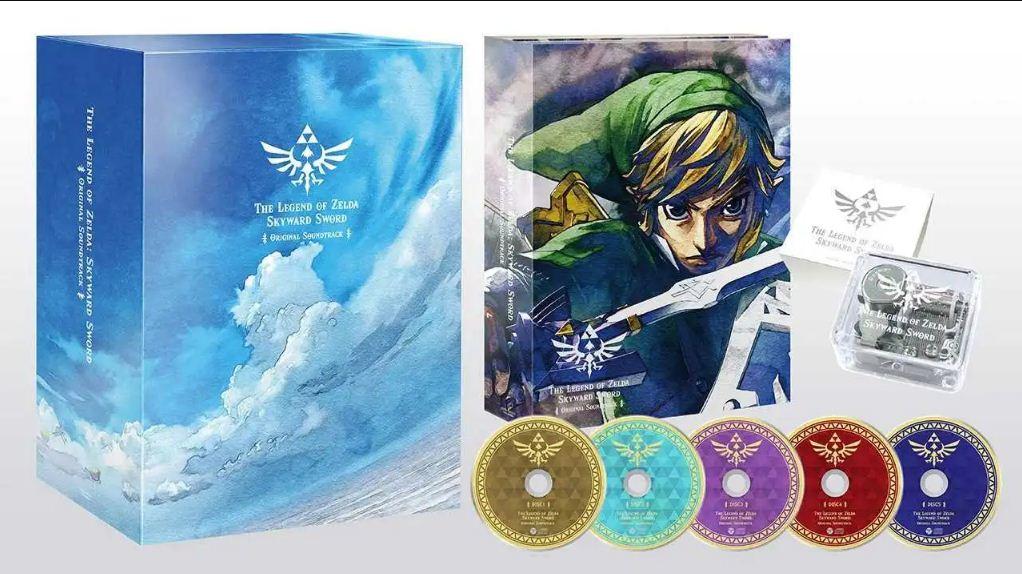 Se revela la banda sonora de Zelda Skyward Sword que incluye una hermosa caja de música, GamersRD