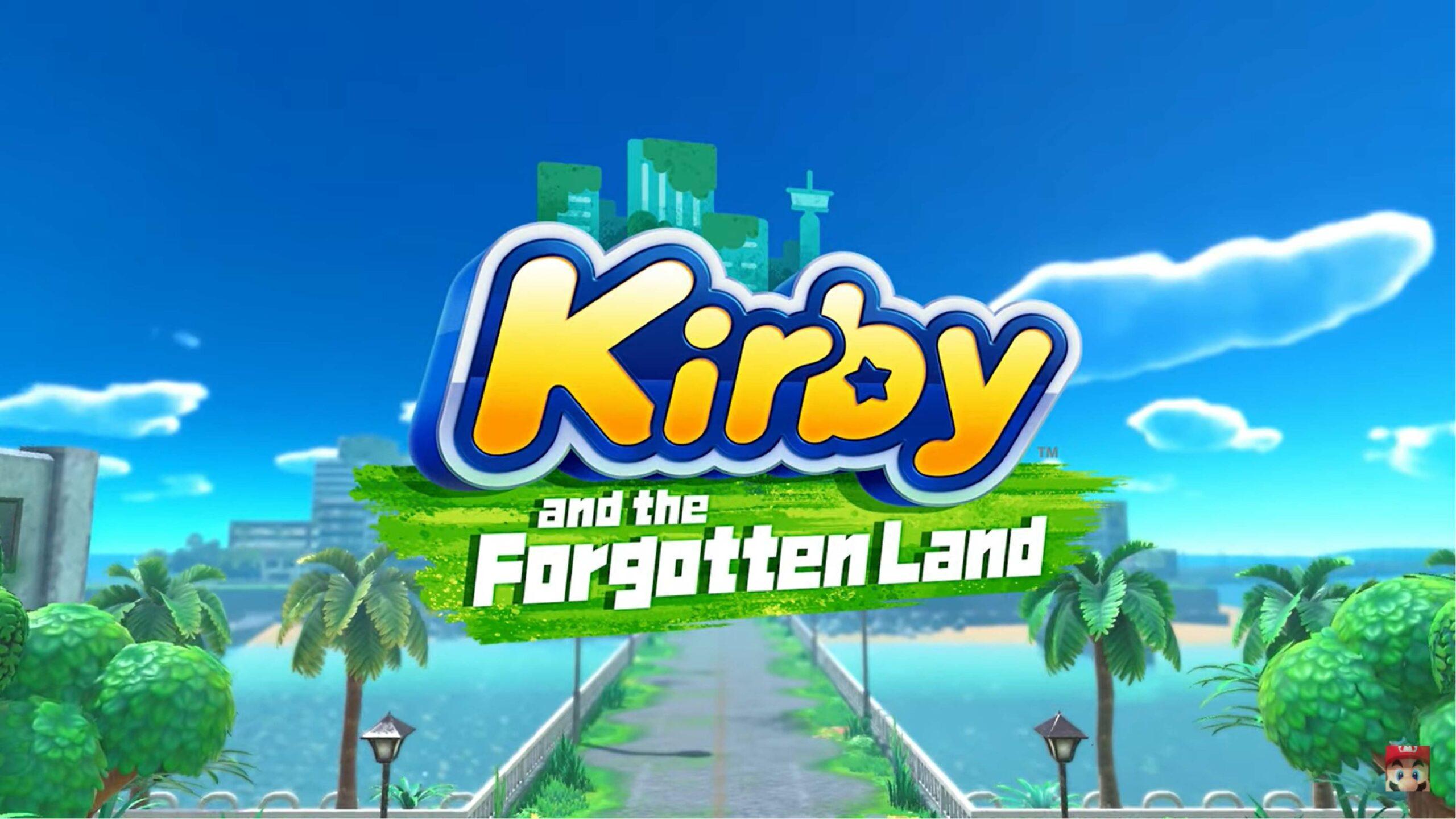 Kirby and the Forgotten Land llegará a Nintendo Switch en 2022