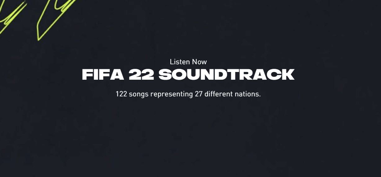 EA Sports revela el Soundtrack de FIFA 22 el más grande de la historia, GamersRD