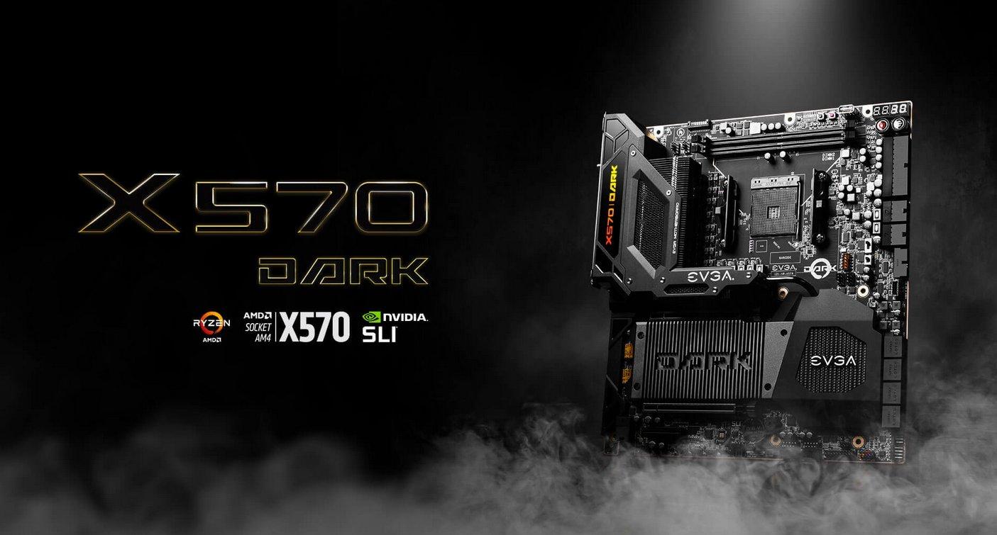 EVGA lanza su nuevo motherboard X570 DARK para CPU AMD Ryzen