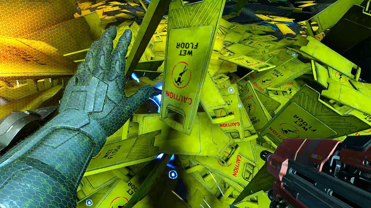 Halo Infinite extraña falla provoca una inundación de letreros de suelo mojado, GamersRD