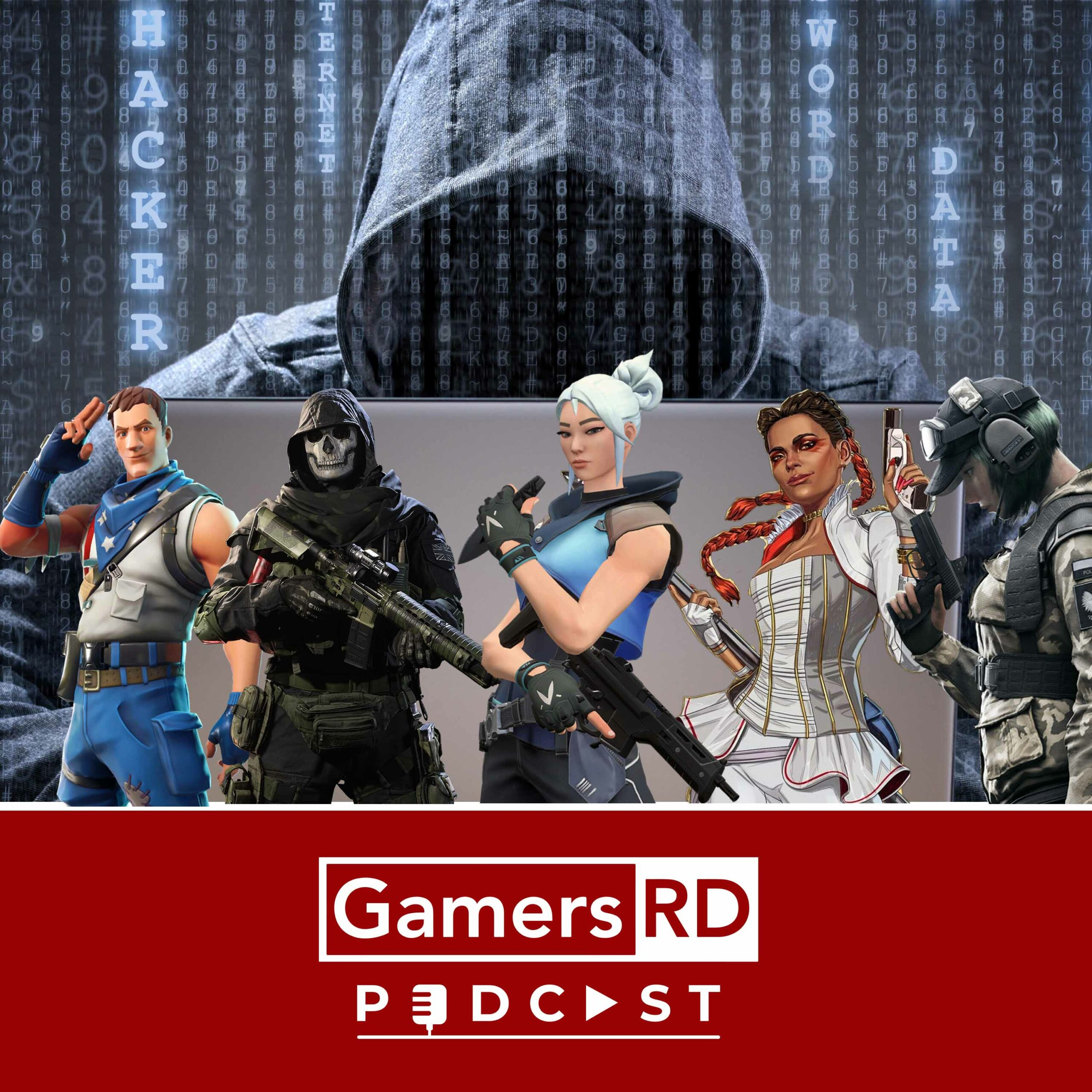 GamersRD Podcast Hackers en juegos FPS , Warzone, Call of Duty, Apex Legends, Valorant, Overwatch , Fortnite