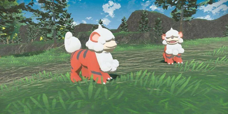 Increíble arte de Pokémon Growlithe hecho con tarjetas de energía TCG, GamersRD