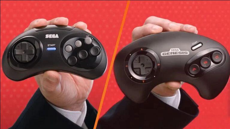 Japón está obteniendo un mejor controlador Switch Mega Drive / Genesis que el oeste, GamersRD