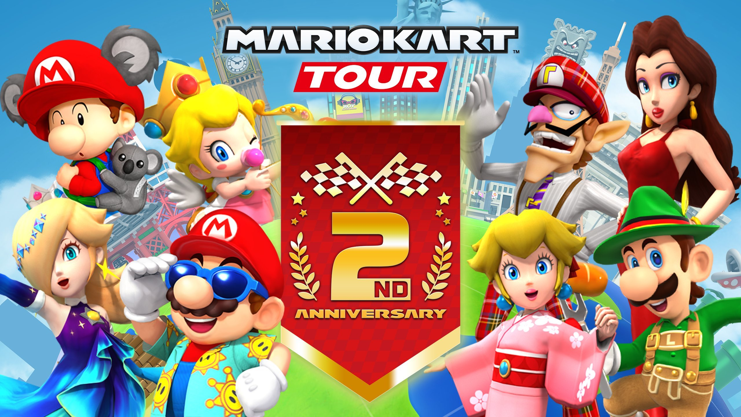 Mario Kart Tour evento GamersRD