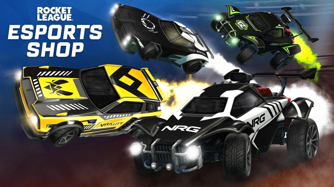 Nuevas calcomanías de equipos de esports llegarán a Rocket League, GamersRD