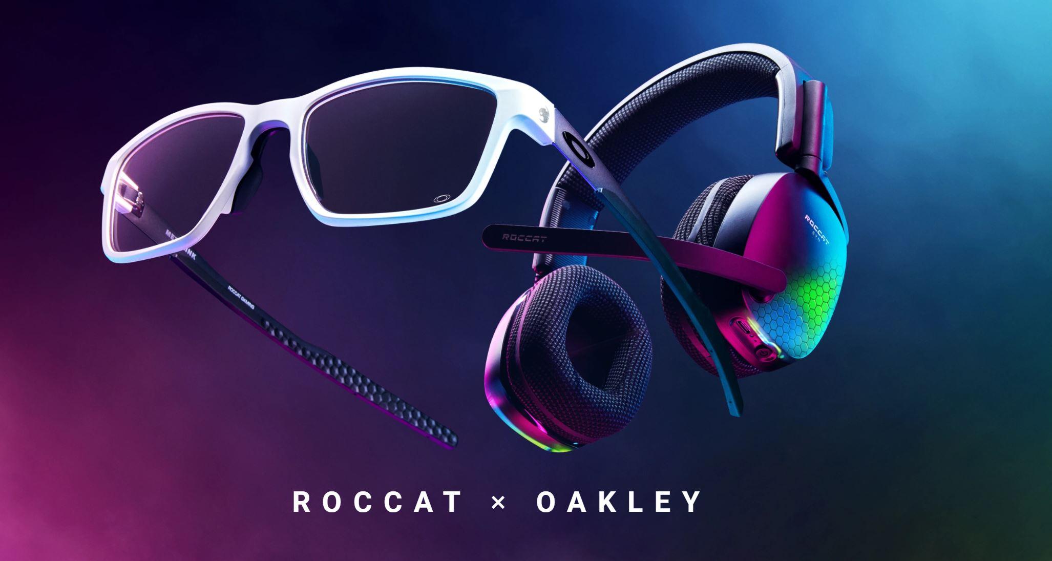ROCCAT y Oakley lanzan una edición limitada de anteojos para jugar en PC , GamersrD