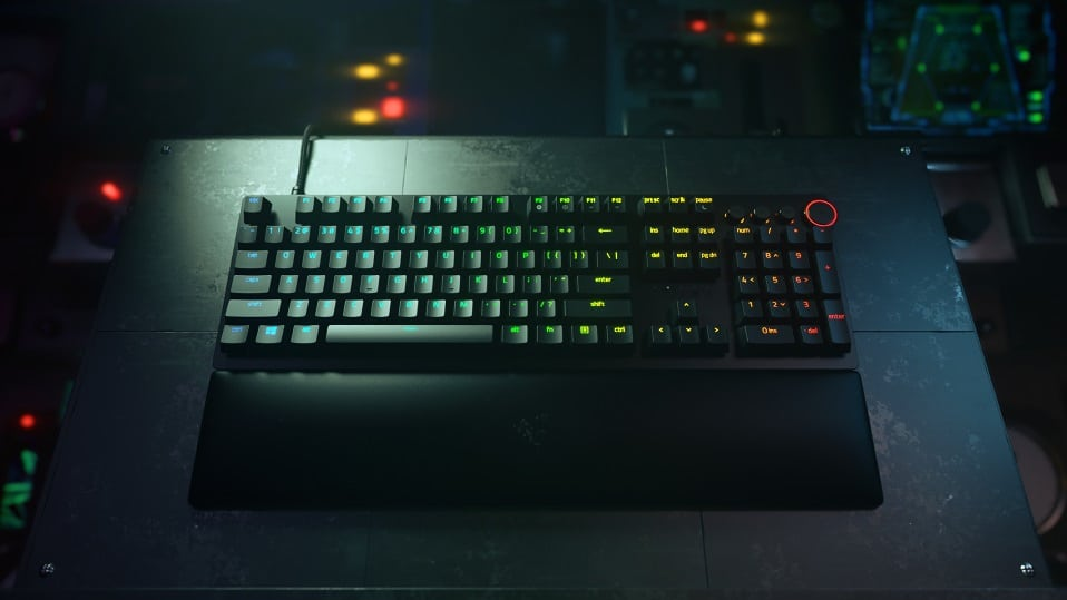 Razer presenta su nuevo teclado Huntsman V2, GamersRD