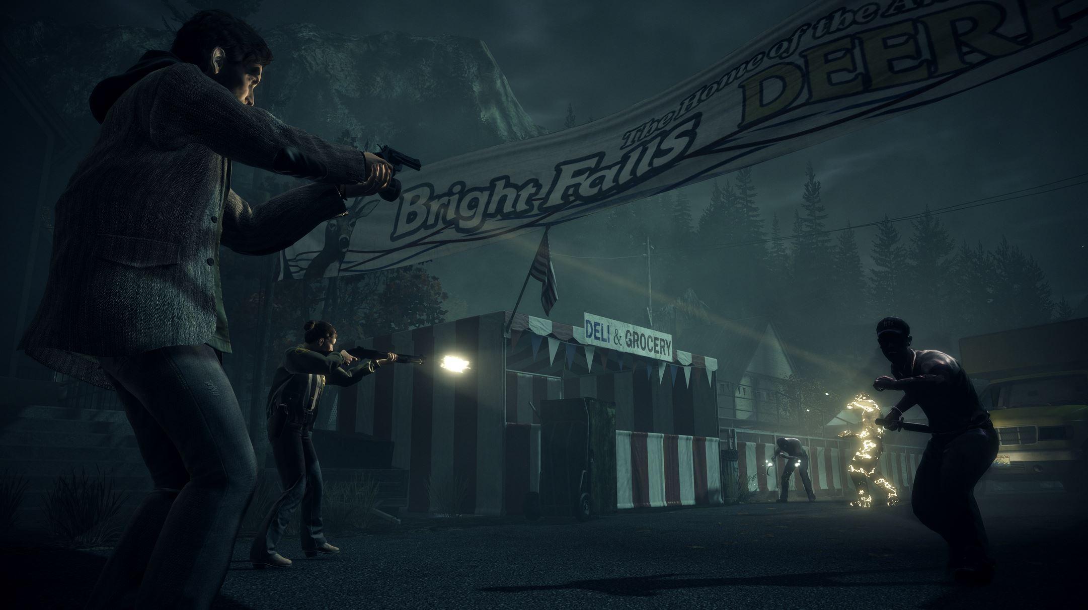 Alan Wake Remastered Review GamersRD2